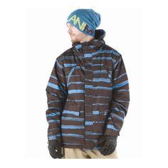 b3eb4732ece Animal Chilam Ski Jacket in Black Coffee. £120 at Urban Surfer with free UK