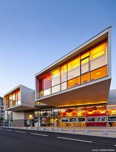 Centro Cultural de Sedan,© Sergio Grazia