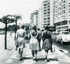 Copacabana, Rio de Janeiro, Brazil  50's