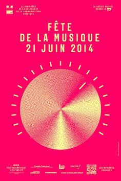L'affiche de la Fête de la Musique 2014
