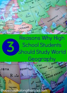 Geography program for high school students