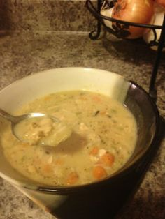 Best of Series- Healthy Copy-Cat Recipe: Panera Chicken and Wild Rice Soup Copycat Recipes, Crockpot Recipes, Soup Recipes, Chicken Recipes, Cooking Recipes, Healthy Recipes, Recipies, Chicken And Wild Rice, Wild Rice Soup