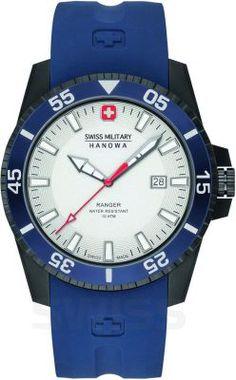 Niebiesko nam! #swissmilitaryhanowa #hanowa #swissmade #blue #white #watch #zegarek #zegarki #butikiswiss #butiki #swiss