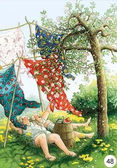 artist Inge Look (Finland) Art Magique, Old Lady Humor, Look Older, Whimsical Art, Old Women, Finland, Illustrators, Cool Art, Illustration Art