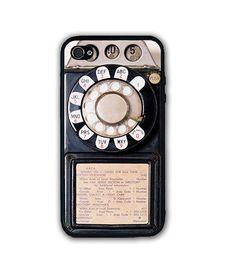 Vintage Retro Payphone Case - Rubber Silicone Case Cover For iPhone 6S 6 SE 5 5C #UnbrandedGeneric