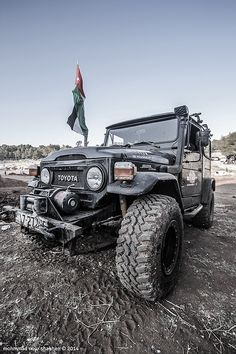 toyota land cruiser 1970 by Moh'd Nour Shahen on 500px