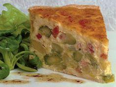 Spargel-Quiche #Rezepte #Spargel #Quiche #Asparagus