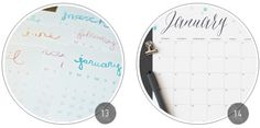 Freebie Roundup: 14 Printable 2014 Calendars http://www.kaitlinsheaffer.com/blog/2013/12/staying-on-top-of-things-calendar-lists-download.html