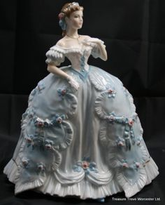 Royal Worcester Figurine 'The First Quadrille'