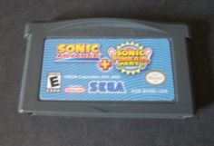 Sonic Advance + Sonic Pinball Party Combo Pack - Game Boy Advance GBA Game only