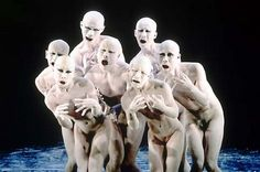 Butoh sums up techniques for movements inspired by the Ankoku-Butoh movement, involving grotesque contortions performed in white body makeup.