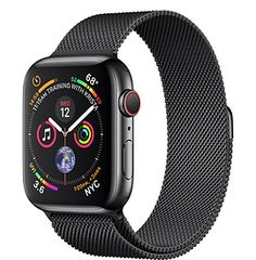 Mens Apple watch-Apple Watch Series 4 (GPS, - Space Gray Aluminium Case with Black Sport Loop,Fundamenttly redesighned and reengineered. the largest apple watch display yet. built-in electrical heart sensor. Apple Watch 42mm, Apple Watch Series 3, Buy Apple Watch, Ios Apple, Apple Iphone, Iphone 5s, Ipad Air 2, Ipad 4, Apple Watch Space Grau