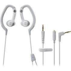 Audio-technica Sonicsport In-ear Hook Style Waterproof Headphones-white