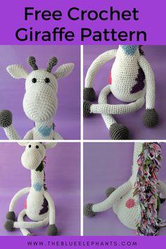 Jeremy The Giraffe: Crochet Giraffe Pattern |