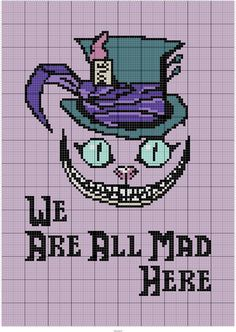 MAD CHESHIRE 100 x 140 GRAPH SQUARES