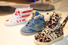 Can't wait to get these for my babies! Jeremy Scott Adidas