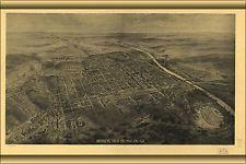 16x24 Poster; Map Of Macon, Georgia 1912