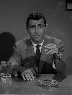 """""""I just want [people] to remember me a hundred years from now. I don't care that they're not able to quote any single line that I've written. But just that they can say, 'Oh, he was a writer.' That's sufficiently an honored position for me.""""  -Rod Serling (1975,via)"""