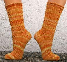 Ulli's Blog: Socken Nr. 27/2011 Lyra's socks
