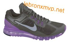 Nike Air Max 2013 Midnight Fog Reflective Silver Laser Purple 554886 005