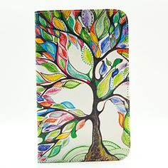 Galaxy Tab 4 7.0 SM-T230 Case, New Colorful Premium Flip Folio Style Foldable Side [Card Slots] [Stand Function] PU Leather Wallet Case Cover Smart Skin For Samsung Galaxy Tab 4 7.0 Inch SM-T230 T231 T235, (Galaxy Tab 4 7.0) , Come with one free Stylus -[Floral Tree Pattern] JCMAX http://www.amazon.com/dp/B00ZZ3QVLO/ref=cm_sw_r_pi_dp_G4Mwwb0Q5FDD8