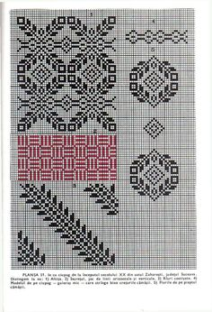 Embroidery Sampler, Folk Embroidery, Folk Fashion, Knit Picks, Cross Stitching, Folk Art, Needlework, Diy And Crafts, Tapestry