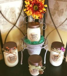 Scented Candles, Candle Jars, Country Scents Candles, Aroma Beads, Soy Products, Facebook, Fall, Business, Autumn