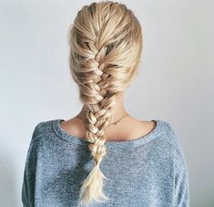 penteado trança de raiz embutida