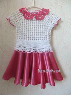 Комплект для девочки. Работа Нины Колотило вязание и схемы вязания