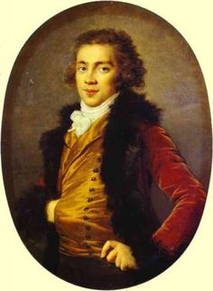 Portrait of Baron Grigory Alexandrovich Stroganoff - Louise Elisabeth Vigee Le Brun