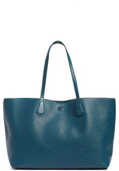 Tory Burch &Perry& Leather Tote