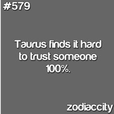 Yeah... I don't think I ever have trusted someone 100%...