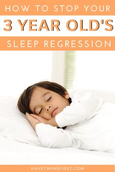 Toddler tips for stopping your 3 year old's sleep regression. Toddler sleep help to get your child to sleep through the night. #toddlers #toddlersleep Toddler Schedule, Sleep Schedule, Fun Activities For Toddlers, Parenting Toddlers, Toddler Sleep Training, Toddler Nap, 3 Year Olds, Sleep Help, Sleeping Through The Night