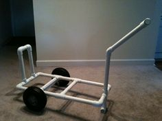 1000 images about pvc inspired on pinterest beach cart for Pvc fishing cart
