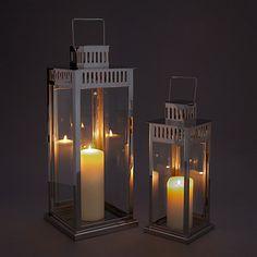 Buy John Lewis Richmond Lanterns, Set of 2 Online at johnlewis.com