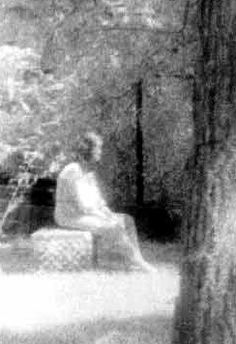 One of the most famous ghost pictures We are never alone.