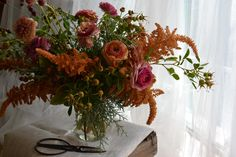 Moon Canyon Design Co.///Autumnal Floral Arrangement