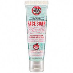 Soap & Glory Face Soap and Clarity™ 3-In-1 Daily-Detox Vitamin C Facial Wash: $3.00 #DailyFaceCare Face Care, Skin Care, Beauty Essentials, Beauty Tips, Beauty Products, Skin Products, Beauty Makeup, Face Soap, Facial Wash
