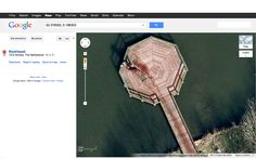 If you type in 52.376552, 5.198303 on google maps, you find that there is a man dragging a body to dump it into the lake. Here's what I got. I'm now curious to see if the police have seen this. Or maybe it's a fake. I really don't know.