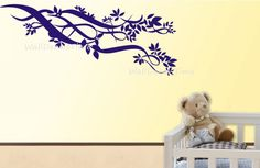 Flower Vinyl Wall Decals Removable Vinyl Decal by WallDecalsTime, $59.00