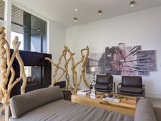Wohnzimmer Bild Wand Boden-rustikale Dekoration