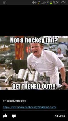not a hockey fan..............