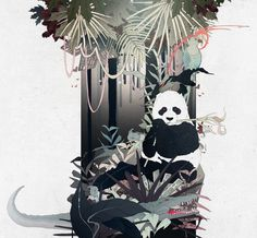 Business Punk: Jungle Fights by Ramona Ring, via Behance