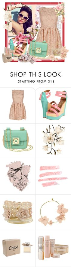 """Pastel's :)"" by sabrinainga ❤ liked on Polyvore featuring GUESS, Matiko, Nine West, Post-It, FRUIT, Revlon, Topshop, Miso, Lanvin and Chloé"