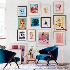 Living Room Decor, Living Spaces, Bedroom Decor, Wall Decor, Bedroom Wall, Diy Wall, Passion Deco, Autumn Home, Home Decor Inspiration