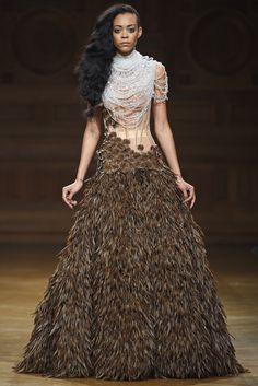 Serkan Cura Couture Fall 2014 [Photo by Giovanni Giannoni]
