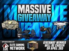 Giveaway: EGN March – Pintereste – Prize: Xbox One, Astro A50s, PS4, Full gaming PC, quadcopter drone, £1000 cash #computer #console #drone