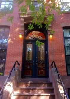 Gold Accent Door, Park Slope Brooklyn, NY
