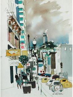 by Dong Moy Chu Kingman [1911-2000]