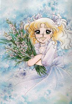 Candice White Andre by Yumiko Igarashi color sleeve ✤ ||キャンディキャンディ• concept art,#shojo clasico #historieta #anime #cartoni #animati #comics #cartoon from the art Yumiko Igarashi|| ✤ Candy Candy